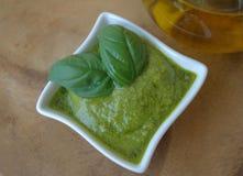 Pesto genovese Stock Photos
