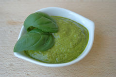 Pesto genovese Royalty Free Stock Photo