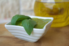 Pesto genovese Royalty Free Stock Image