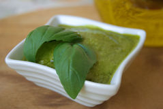 Pesto genovese Royalty Free Stock Photos
