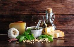 Pesto genovese Imagenes de archivo