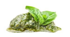 Pesto Genovese and basil Royalty Free Stock Images