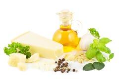 Pesto ingredients Royalty Free Stock Image