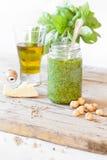 Pesto Jar Stock Images