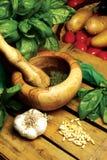 Pesto ligurien photographie stock libre de droits