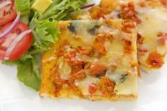 Pesto Marguarita Pizza Stock Photo