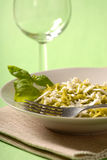 Pesto meal Royalty Free Stock Image