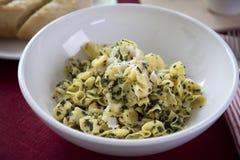 Pesto Pasta Stock Image