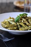 Pesto Penne Royalty Free Stock Photo