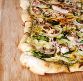 Pesto pizza Stock Images