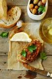 Pesto rouge Image libre de droits