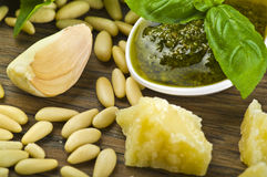 Pesto sauce Stock Photos