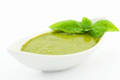 Pesto sauce Royalty Free Stock Image