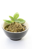 Pesto sauce Royalty Free Stock Photography
