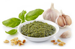 Pesto sauce Stock Photography