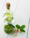 Pesto sauce Stock Image