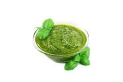 Pesto sauce Stock Images