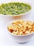 Pesto sauce Stock Image