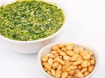 Pesto sauce Stock Images