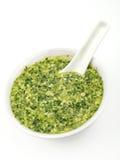 Pesto sauce Stock Photos