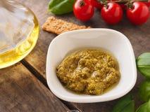 Pesto verde, Italian food Stock Photo