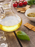 Pesto verde, Italian food Stock Photography