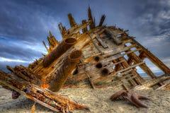 Pesuta skeppsbrott Arkivbilder
