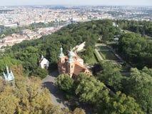 Petřín hill, Prague Stock Photo