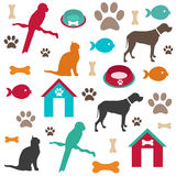 Pet background Stock Images