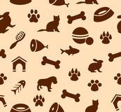 Pet background Royalty Free Stock Images