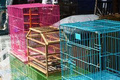 Pet and Bird Cages Royalty Free Stock Image