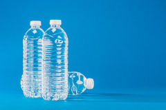 PET bottle that contains the water Stock Photo