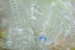 PET bottle discarded Stock Images