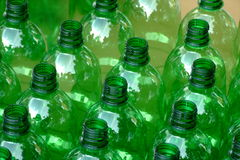PET bottles. In a repetitive composition made at a vintage Stock Photography