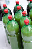 PET bottles stock photo