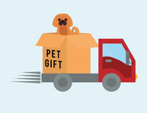 Pet care design Royalty Free Stock Images