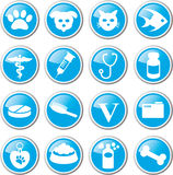 pet care icon set Royalty Free Stock Photo