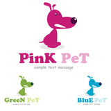 Pet care Logo Royalty Free Stock Photography
