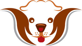 Pet care logo Royalty Free Stock Images