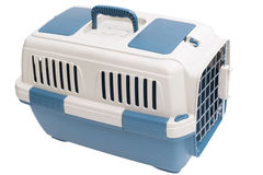 Pet carrier. For traveling with a pet Stock Images