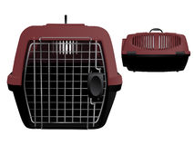Pet carrier Stock Photography