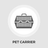 Pet Carrier Flat Icon Royalty Free Stock Photos