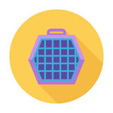 Pet carrier icon. Flat vector related icon for web and mobile applications. It can be used as - logo, pictogram, icon, infographic element. Vector Illustration Stock Photography