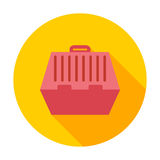 Pet carrier icon. Flat vector related icon for web and mobile applications. It can be used as - logo, pictogram, icon, infographic element. Vector Illustration Stock Photo