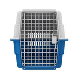 Pet Carrier Isolated. On white background. 3D render Royalty Free Stock Photos