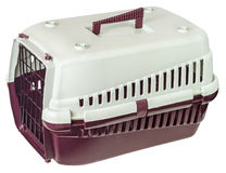 Pet carrier Stock Photo