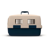 Pet carrier for pet traveling  on white 3D Illustration Royalty Free Stock Photography