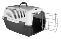 Pet carrier for traveling Royalty Free Stock Image