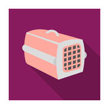 Pet case icon of vector illustration for web and mobile Royalty Free Stock Photos