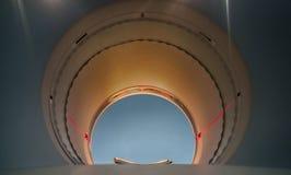 PET/CT Maszynowa round dziura Pozytron emisi tomography†'comput obrazy stock